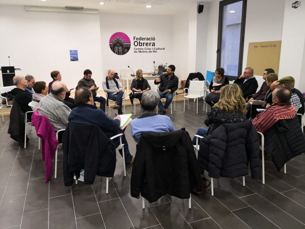 Jornada dels Comuns Molinencs a la Federació Obrera